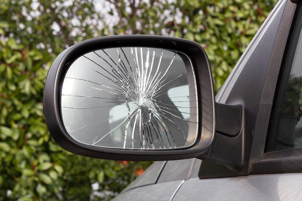 Seguro auto - vidro quebrado
